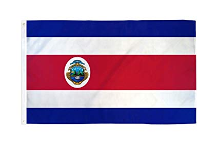 costa rican flag